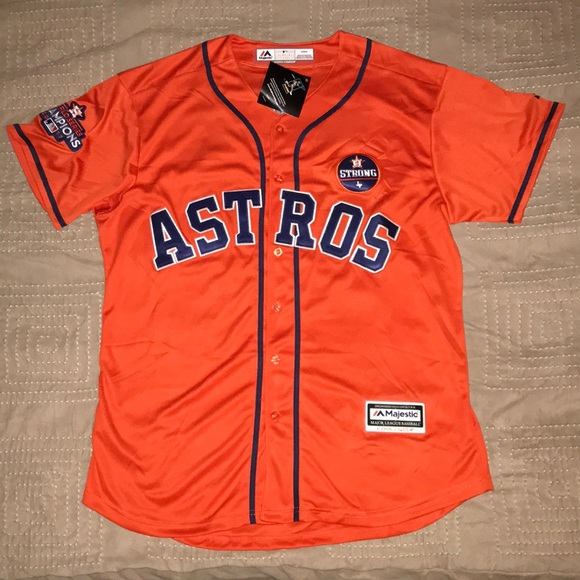 size 40 3ba5e 6fc1b Jose Altuve Houston Astros World Series Jersey NWT